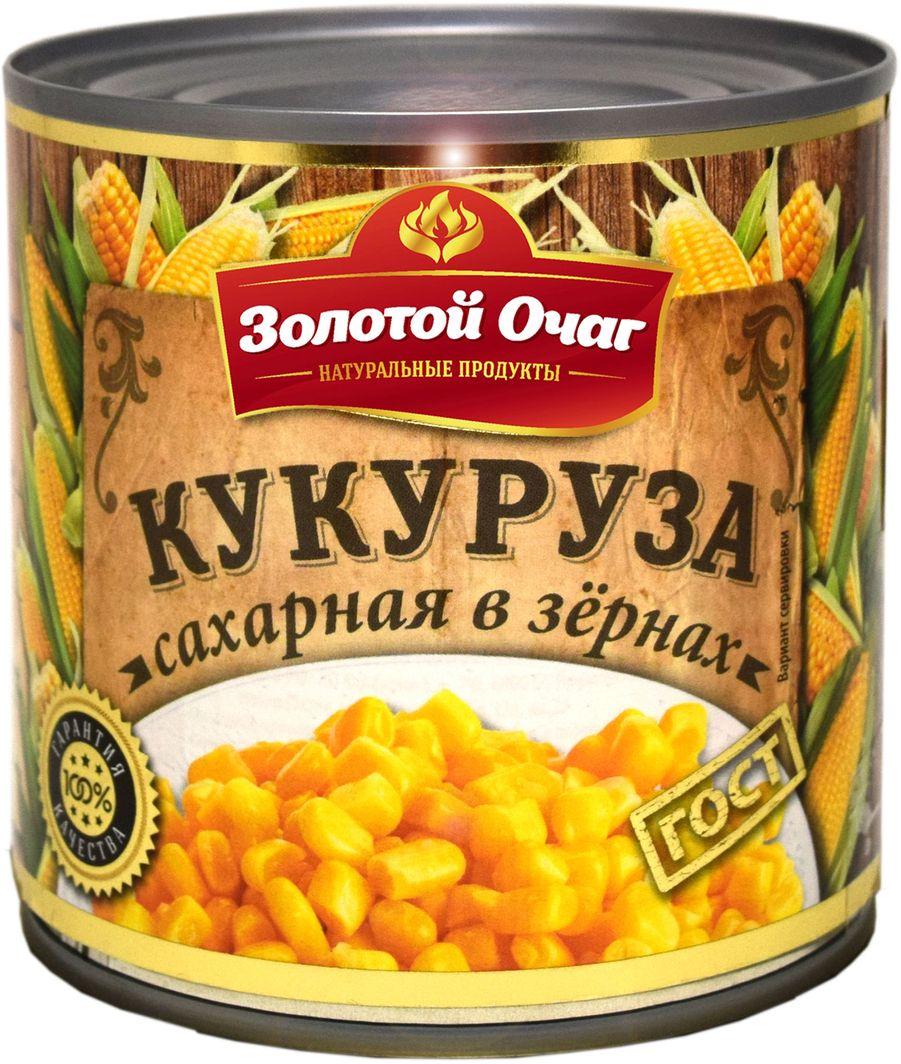 Золотой Очаг кукуруза сахарная, 400 г