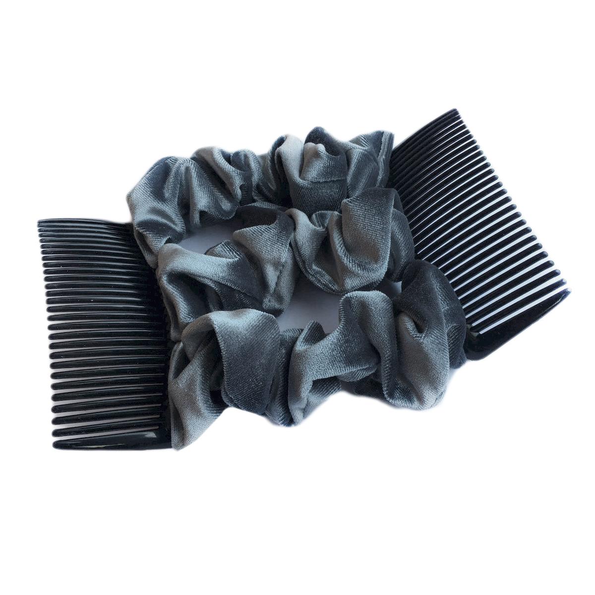Montar Заколка Монтар, сераяSatin Hair 7 BR730MNУдобная и практичная MONTAR напоминает Изи Коум.Подходит для любого типа волос: тонких, жестких, вьющихся или прямых, и не наносит им никакого вреда. Заколка не мешает движениям головы и не создает дискомфорта, когда вы отдыхаете или управляете автомобилем.Каждый гребень имеет по 20 зубьев для надежной фиксации заколки на волосах! И даже во время бега и интенсивных тренировок в спортзале Изи Коум не падает; она прочно фиксирует прическу, сохраняя укладку в первозданном виде.Небольшая и легкая заколка поместится в любой дамской сумочке, позволяя быстро и без особых усилий создавать неповторимые прически там, где вам это удобно. Гребень прекрасно сочетается с любой одеждой: будь это классический или спортивный стиль, завершая гармоничный облик современной леди. И неважно, какой образ жизни вы ведете, если у вас есть MONTAR, вы всегда будете выглядеть потрясающе.Применение:1) Вставьте один из гребней под прическу вогнутой стороной к поверхности головы.2) Поместите пальцы рук в заколку, чтобы придержать волосы, и закрепите первый гребень.3) Второй гребень оберните поверх прически и вставьте с другой стороны вогнутой поверхностью к голове и закрепите его.