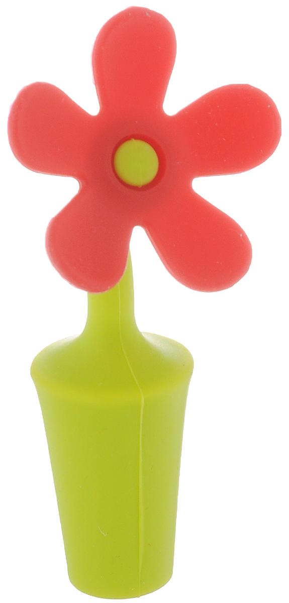 Пробка для бутылки Menu Цветик, цвет: салатовый, красныйАксион Т-33Пробка для бутылки Menu Цветик, выполненная из силикона, предназначена для открытых бутылок в целях предотвращения окисления и порчи напитков. Перед применением промойте пробку в теплой воде с использованием щадящих моющих средств. Рекомендуется мыть вручную.Длина пробки: 9,5 см.