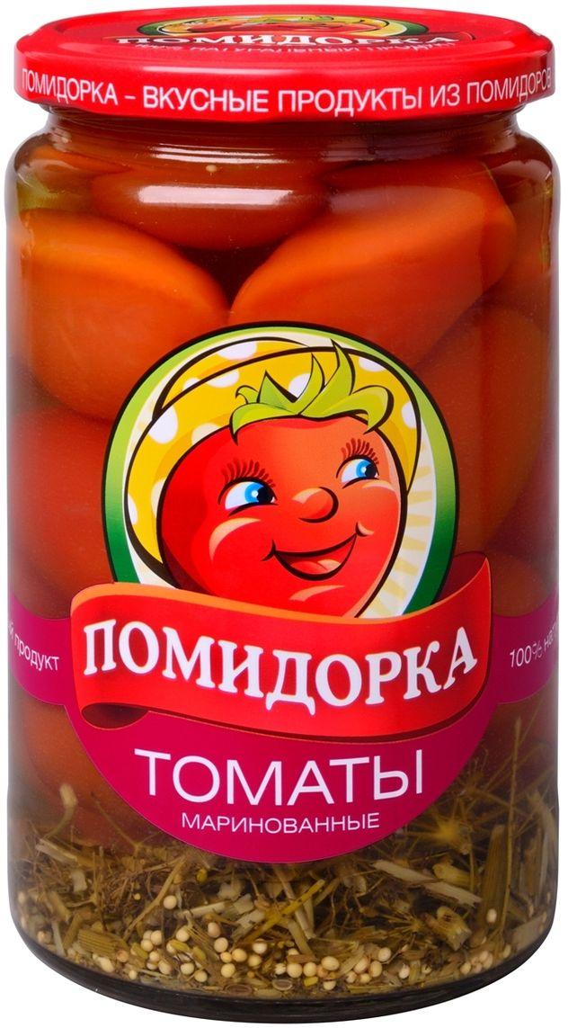 Помидорка Томаты маринованые, 720 мл0120710Маринованные томаты используются как самостоятельная закуска.