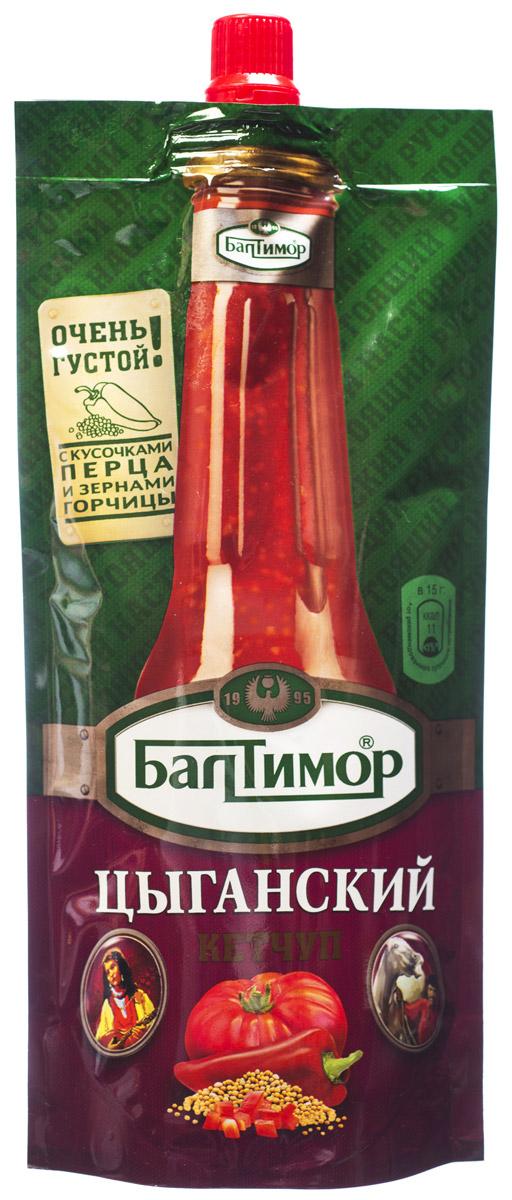 Балтимор Кетчуп цыганский, 260 г3437Кетчуп Балтимор Цыганский - пряный кетчуп с зернами белой горчицы и красным болгарским перцем. Для любителей насыщенных и необычных вкусов!