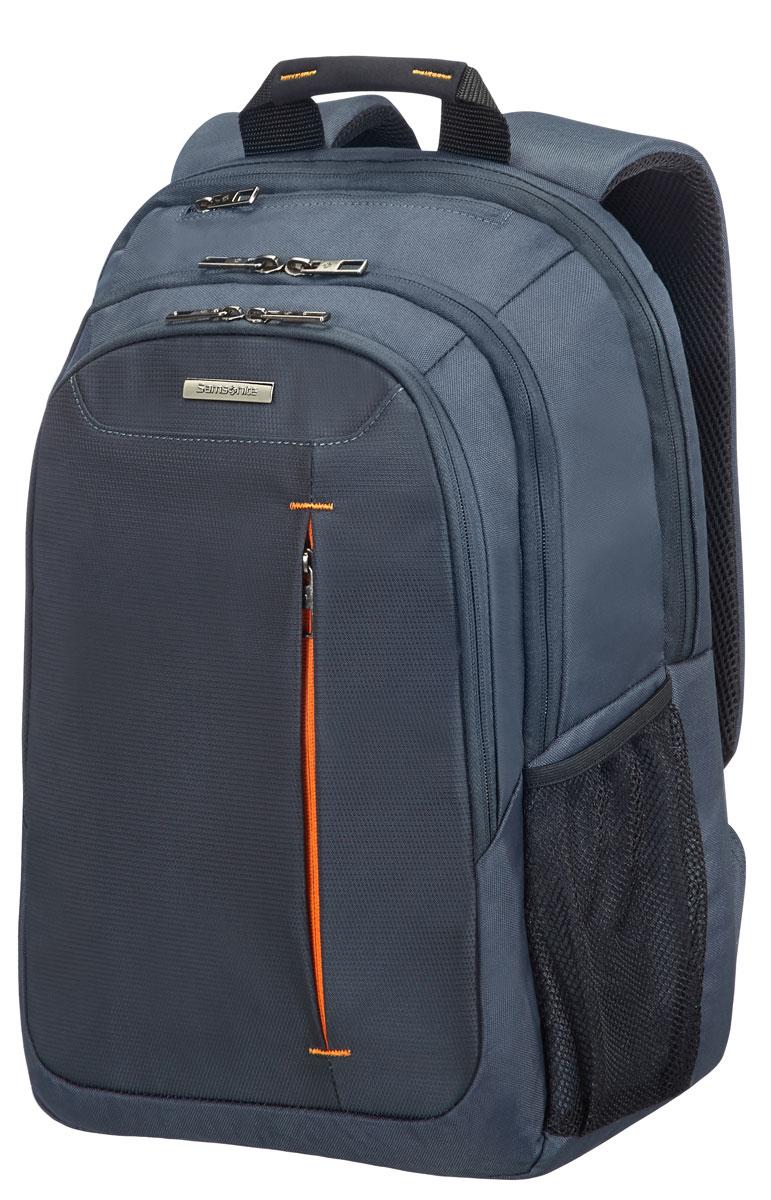 Рюкзак для ноутбука Samsonite Guardit, цвет: серый, 31 х 21 х 44,5 см4763Рюкзак для ноутбука Samsonite Guardit до 16 изготовлен из полиэстера. Коллекция Guardit является идеальным решением для пользователей ноутбуков,объединяет в себе базовую функциональность с отличным внешним видом. Особенности коллекции: передний карман с внутренней организацией, умный карман, верхняя ручка с прокладкой из неопрена.Размер рюкзака: 31 х 21 х 44,5 см. Объем рюкзака: 22 л.