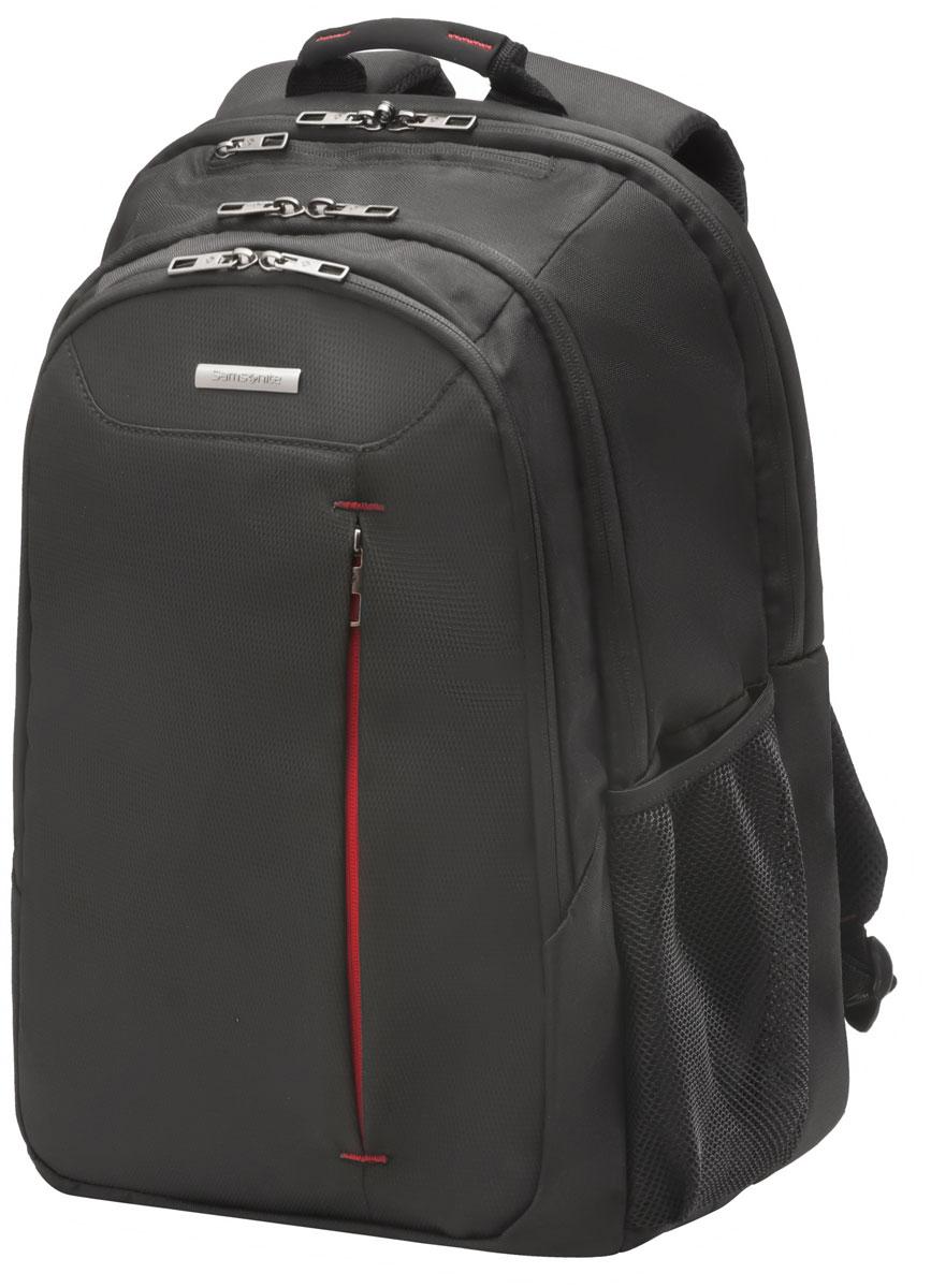 Рюкзак для ноутбука Samsonite, цвет: черный, 27 л, 32 х 22 х 48 смRivaCase 8460 aquamarineКоллекция GUARDIT является идеальным решением для пользователей ноутбуков,объединяет в себе базовую функциональность с отличным внешним видом из полиэстера.Особенности коллекции: передний караман с внутренней организацией,умный карман, верхняя ручка с прокладкой из неопрена.