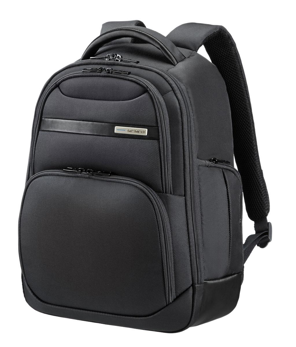 Рюкзак для ноутбука Samsonite Guardit, цвет: черный, 15 л, 31,5 х 17,5 х 42 смRivaCase 8460 blackРюкзак для ноутбука Samsonite Guardit до 14 изготовлен из полиэстера. Коллекция Guardit является идеальным решением для пользователей ноутбуков,объединяет в себе базовую функциональность с отличным внешним видом. Особенности коллекции: передний карман с внутренней организацией,умный карман, верхняя ручка с прокладкой из неопрена.Размер рюкзака: 31,5 х 17,5 х 42 смОбъем рюкзака: 15 л.