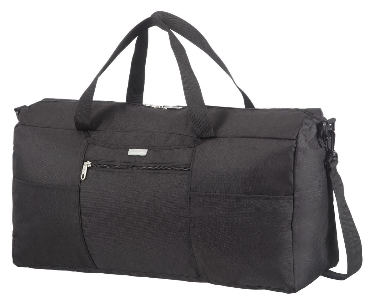 Сумка дорожная Samsonite, цвет: черный, 18 л, 24 х 17 х 14,5 см426-7помогут эффективно упаковать и перевезти вещи