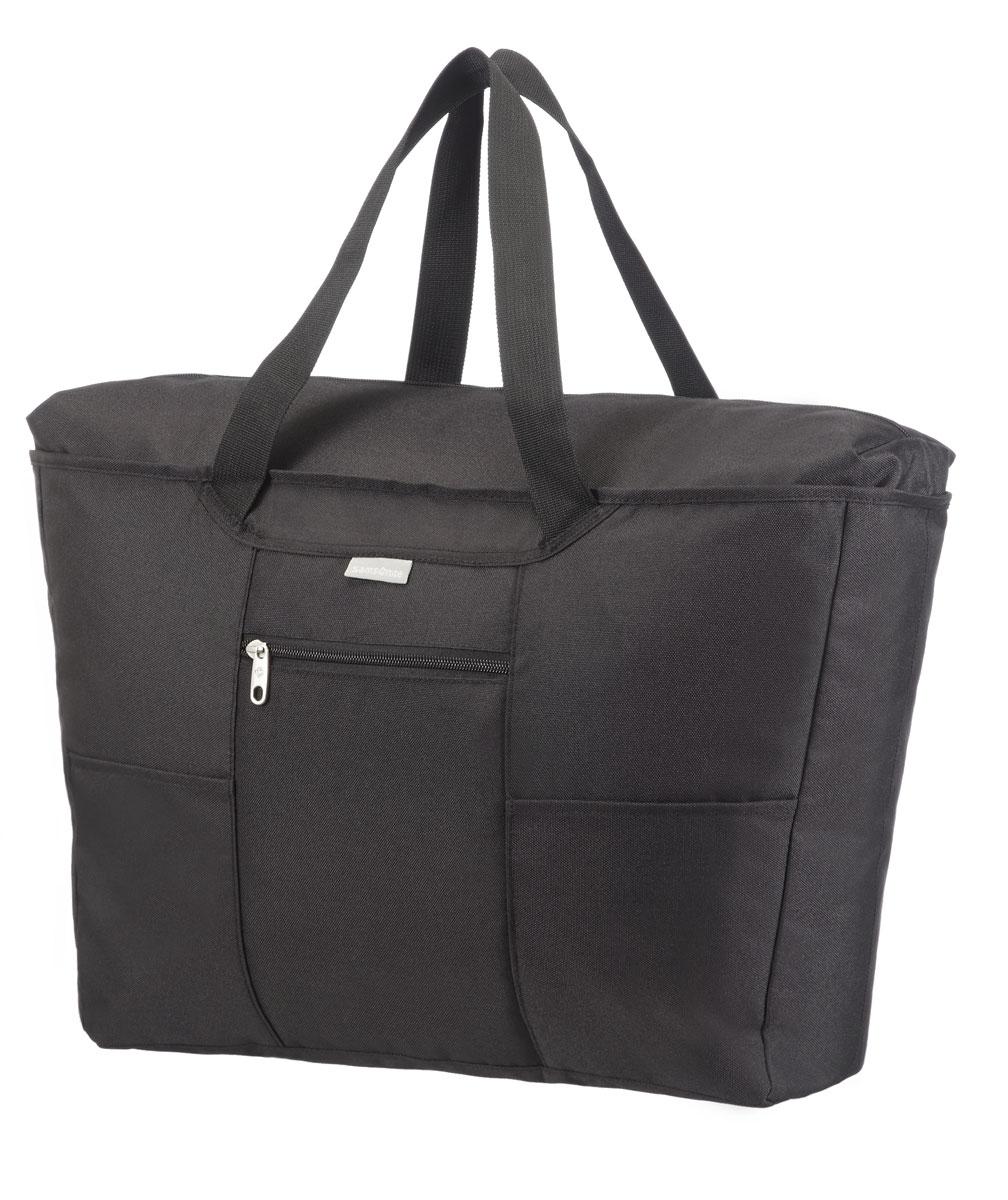 Сумка дорожная Samsonite, цвет: черный, 18 л, 24,5 х 13,5 х 17 см2005091-6000помогут эффективно упаковать и перевезти вещи