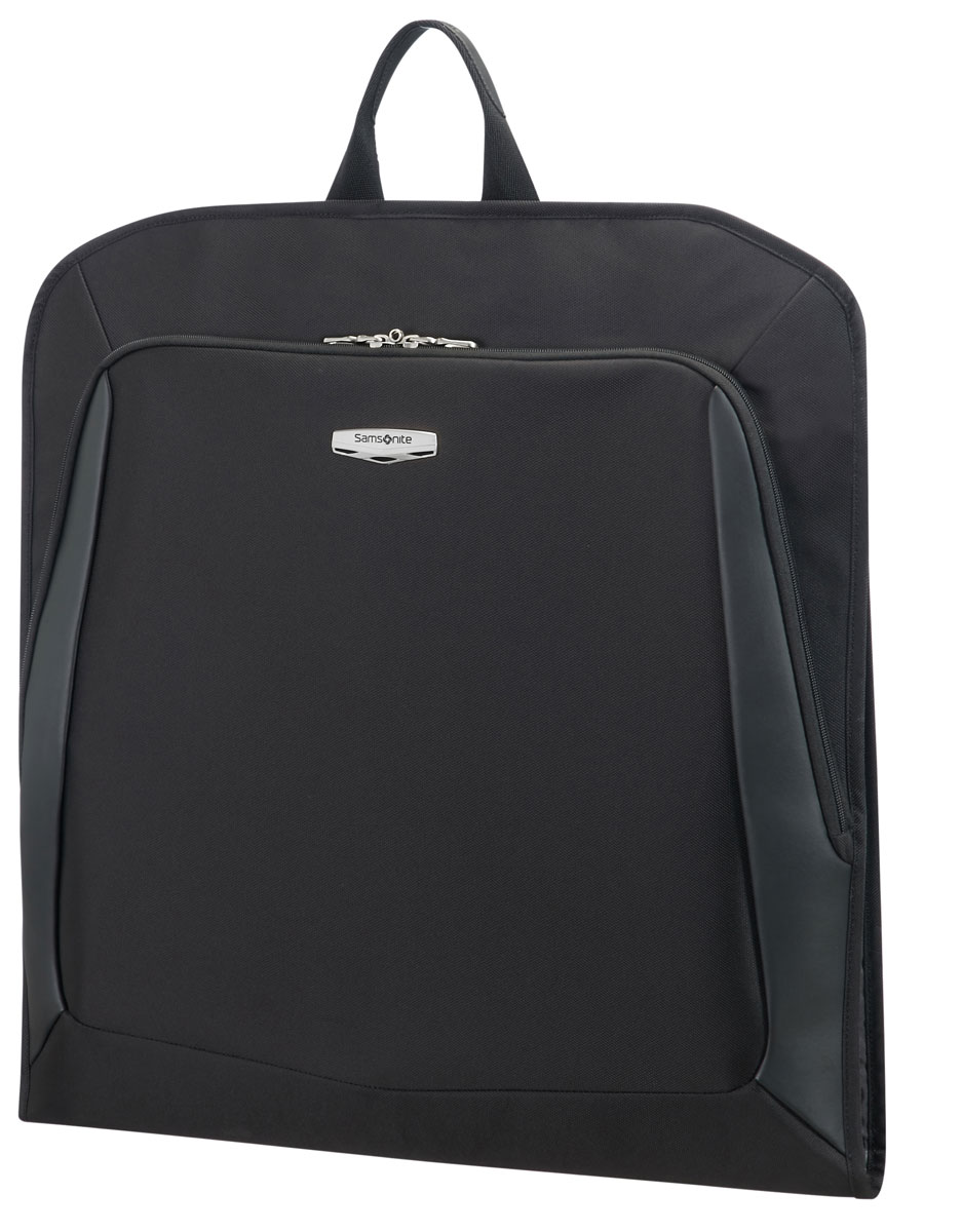 Чехол для одежды Samsonite  X- blade 3.0, цвет: черный, 53 х 53 х 5 см04N*09012Чехол для одежды Samsonite  X- blade 3.0 -легкий портплед-чехол для одежды. Внутренний объём вмещает несколько рубашек или легкий костюм. На задней части портпледа имеется вместительный карман на молнии. В комплекте удобная плечевая лямка.Размер: 53 х 53 х 5 см
