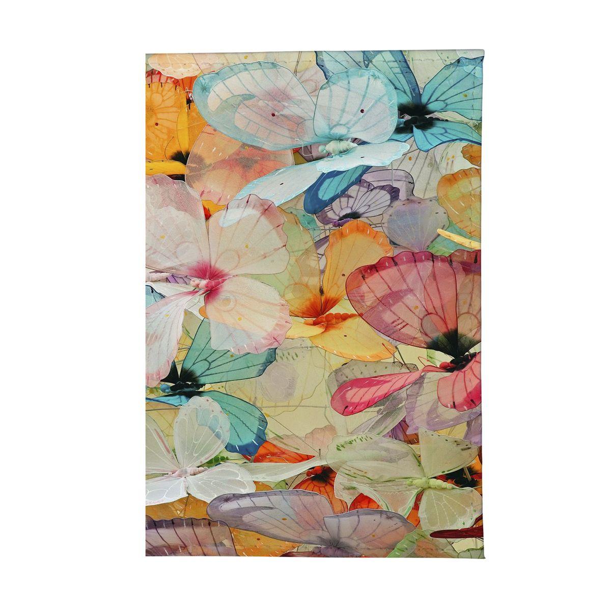 Обложка для автодокументов женская Mitya Veselkov Цветные бабочки. AUTOZAM165VCA-00Стильная обложка для автодокументов Mitya Veselkov Цветные бабочки изготовлена из ПВХ и оформлена интересным принтом. Внутри изделия расположен съемный блок для документов, включающий в себя шесть прозрачных файлов.