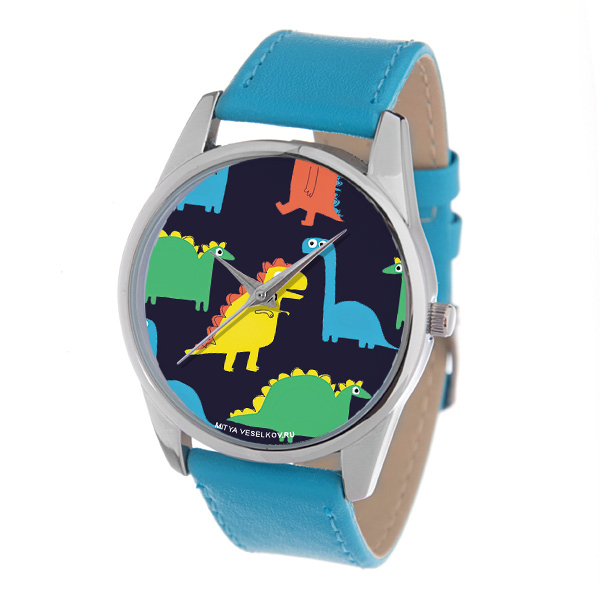 Zakazat.ru: Часы Mitya Veselkov Разноцветные динозавры. Color-112