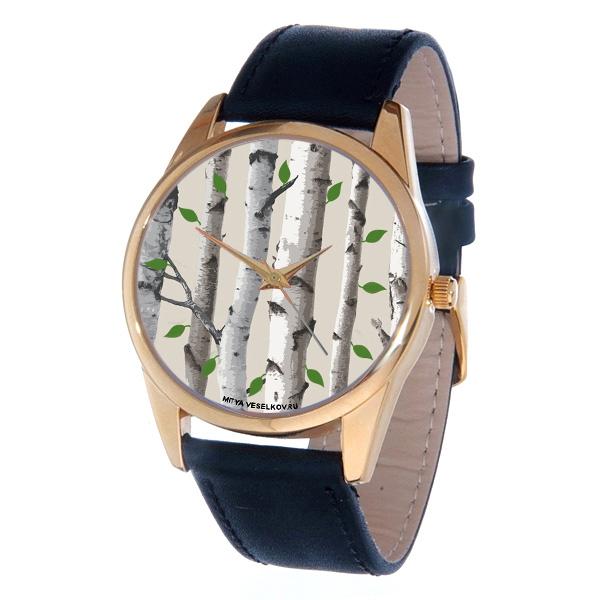 Часы Mitya Veselkov Березы. Gold-45BM8434-58AEЭлегантные часы Mitya Veselkov Березы выполнены из нержавеющей стали, натуральной кожи и минерального стекла.Часы оснащены кварцевым механизмом с тремя стрелками, полированным корпусом, устойчивым к царапинам минеральным стеклом. Изделие дополнено кожаным браслетом с пряжкой, которая позволит легко снимать и надевать часы.Часы упакованы в оригинальный фирменный стаканчик Mitya Veselkov.