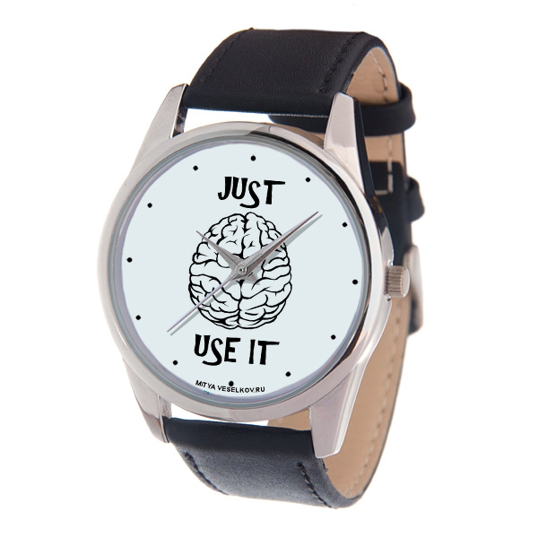 Zakazat.ru: Часы наручные Mitya Veselkov Just use it, цвет: черный. MV-213