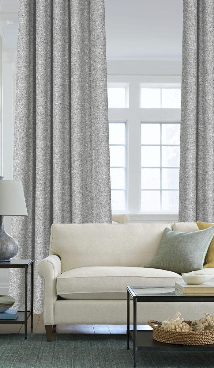 Штора Garden, на ленте, цвет: серый, высота 260 см. С 536049 V3KGB GX-3Garden – это универсальная и интересная серия домашних штор для яркого и стильного оформления окон и создания особенной уютной атмосферы. Эта штора великолепно смотрится как одна, так и в паре, в комбинации с нежной тюлевой занавеской, собранная на подхваты и свободно ниспадающая естественными складками. Такая штора, изготовленная полностью из прочного и очень практичного полиэстерового полотна, долговечна и не боится стирок, не сминается, не теряет своего блеска и яркости красок.