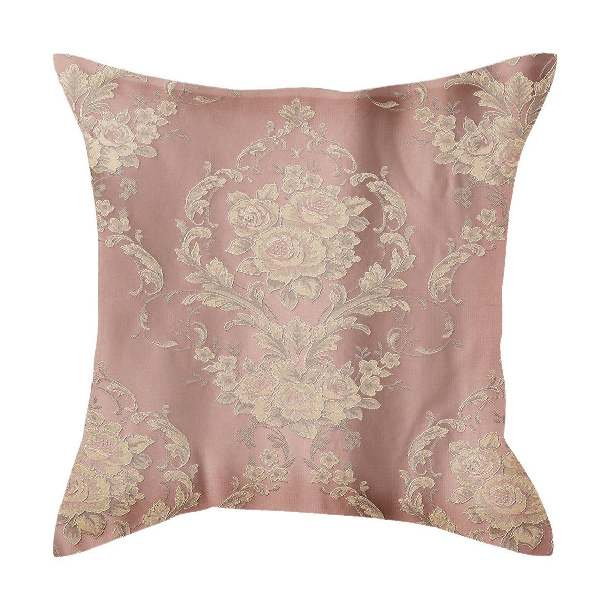 Наволочка декоративная Garden, цвет: розовый, 40 х 40 см. N 537205 V4ES-412Декоративная наволочка Garden выполнена из жаккарда (100 % полиэстер). Благодаря нежной расцветке и качественному исполнению декоративная наволочка станет отличным дизайнерским решением для интерьера. Размер: 40 х 40 см.