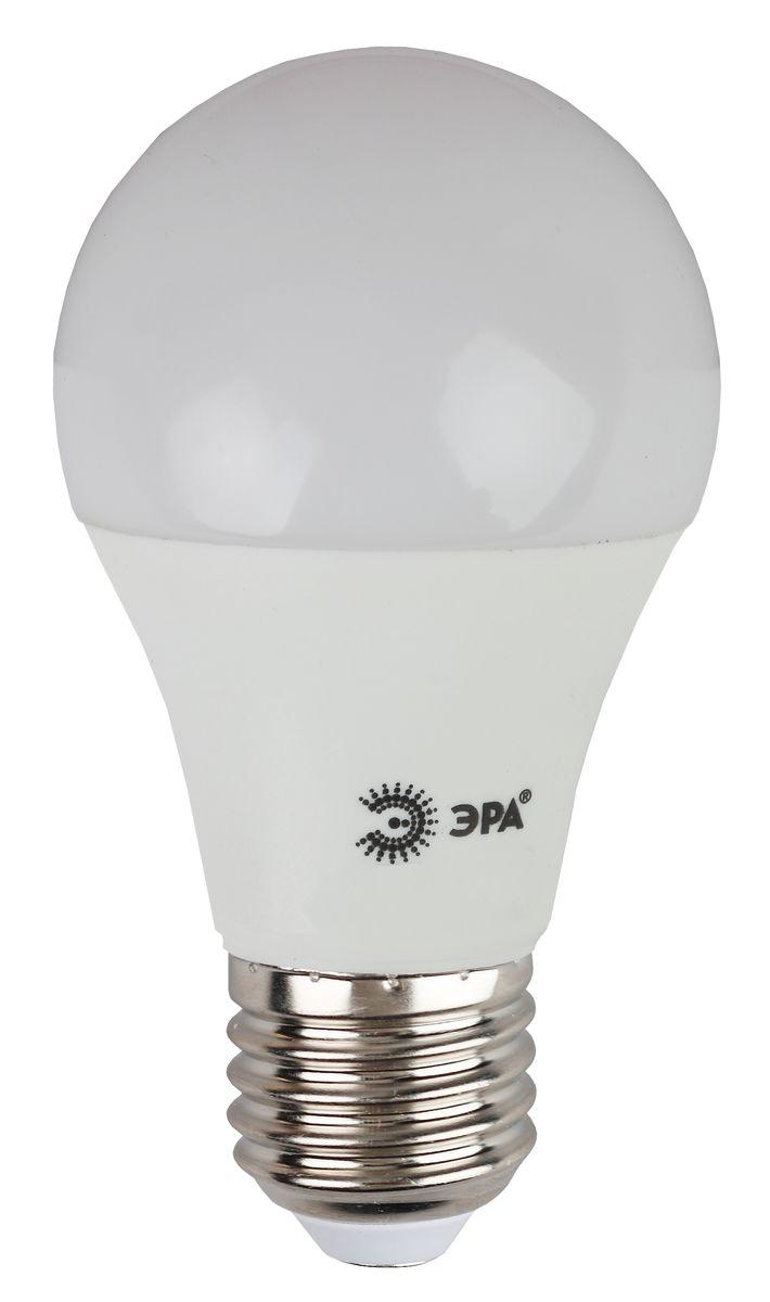 Лампа светодиодная ЭРА, цоколь E27, 170-265V, 10W, 4000КC0027371Светодиодная лампа ЭРА является самым перспективным источником света. Основным преимуществом данного источника света является длительный срок службы и очень низкое энергопотребление, так, например, по сравнению с обычной лампой накаливания светодиодная лампа служит в среднем в 50 раз дольше и потребляет в 10-15 раз меньше электроэнергии. При этом светодиодная лампа практически не подвержена механическому воздействию из-за прочной конструкции и позволяет получить любой цвет светового потока, что, несомненно, расширяет возможности применения и позволяет создавать новые решения в области освещения.Особенности серии Eco:Предназначена для обычного потребителяЦена ниже, чем цена компактной люминесцентной лампыСветовая отдача источников света - 70-80 лм/ВтСрок службы составляет 25000 часовГарантия - 1 год. Работа в цепи с выключателем с подсветкой не рекомендована.