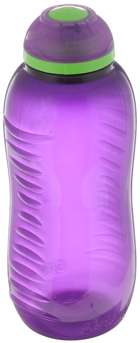 Бутылка для воды Sistema Twist n Sip, цвет: фиолетовый, 330 млVT-1520(SR)Бутылка для воды Sistema Twist n Sip изготовлена из прочного пищевого пластика без содержания фенола и других вредных примесей. Рельефная поверхность бутылки со специальными выемками для удобного хвата. Бутылка имеет удобную запатентованную систему крышки Twist n Sip, которая предотвращает выливание жидкости и в то же время позволяет удобно пить напитки. С такой бутылкой Вы сможете где угодно насладиться Вашими любимыми напитками. Высота бутылки: 16 см.