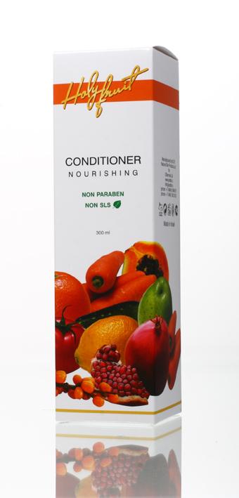 Holy Fruit Кондиционер питающий Nourishing Conditioner Antistress,300млMP59.4DПитающий кондиционер содержит масло жожоба, арганы, облепихи, экстракт крапивы и розмарина, масло гранатовых косточек. Уникальное сочетание этих компонентов эффективно устраняет сухость и ломкость волос, смягчает секущиеся кончики, восстанавливает волосы, травмированные химическим и термическим воздействием. Масло арганы и облепихи способствуют росту волос, защищают от воздействия солнечных лучей. При регулярном использовании кондиционера волосы становятся послушными, обретают блеск и жизненную силу.