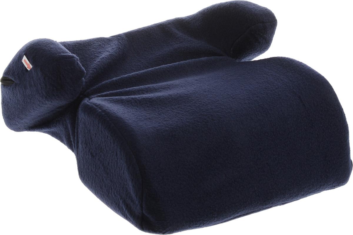 Sapfire Бустер, цвет: темно-синий, 22-36 кгКРЕС0169Автокресло Sapfire разработано для детей весом от 22 до 36 кг (приблизительно возраст ребенка от 6 до 12 лет).Устанавливается на любое, кроме переднего ряда, посадочное место, оборудованное диагонально-поясным ремнем безопасности. Неровная поверхность нижней части бустера препятствует скольжению по сиденью автомобиля. Анатомическая посадочная верхняя часть бустера позволяет длительно использовать его при поездке на дальние расстояния, а боковая поддержка удерживает ребенка при боковых перемещениях. Данный бустер не вызывает охлаждение мочеполовой системы ребенка при минусовых температурах в отличии от пластиковых бустеров. Если возникает необходимость, вы можете использовать бустер за любым обеденным столом, так как укороченная передняя часть позволяет вплотную придвинуться грудью к столу. И самое главное - избавит вас от необходимости искать в кафе детский стульчик. Чехол кресла на застежке-молнии, легко снимается и стирается.Правильная установка и применение в соответствии с инструкцией данного детского автомобильного сиденья обеспечит вам безопасную перевозку ребенка в автомобиле.