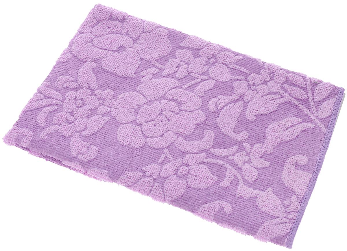 Салфетка для уборки Доминго Плюш-ап, универсальная, цвет: фиолетовый, 35 х 36 см00206-20.000.00Салфетка для уборки Доминго Плюш-ап, выполнена из микрофибры (полиамид и полиэстер), предназначена для уборки и может применяться как с моющим средством, так и без. Эффективно впитывает жидкость, втягивает и удерживает частицы грязи, жира и пыли. Мягкая и прочная, легко отжимается и быстро сохнет.Рекомендации по уходу: Для обеспечения гигиеничности уборки после применения прополоскать в теплой воде.Салфетку можно стирать вручную или в стиральной машине с моющими средствами без кондиционера при температуре до 60°C.Если салфетка станет хуже справляться с грязью, значит микроволокна забились жиром. Прокипятите салфетку в течение 5 минут с моющим средством, и она вернется в рабочее состояние.