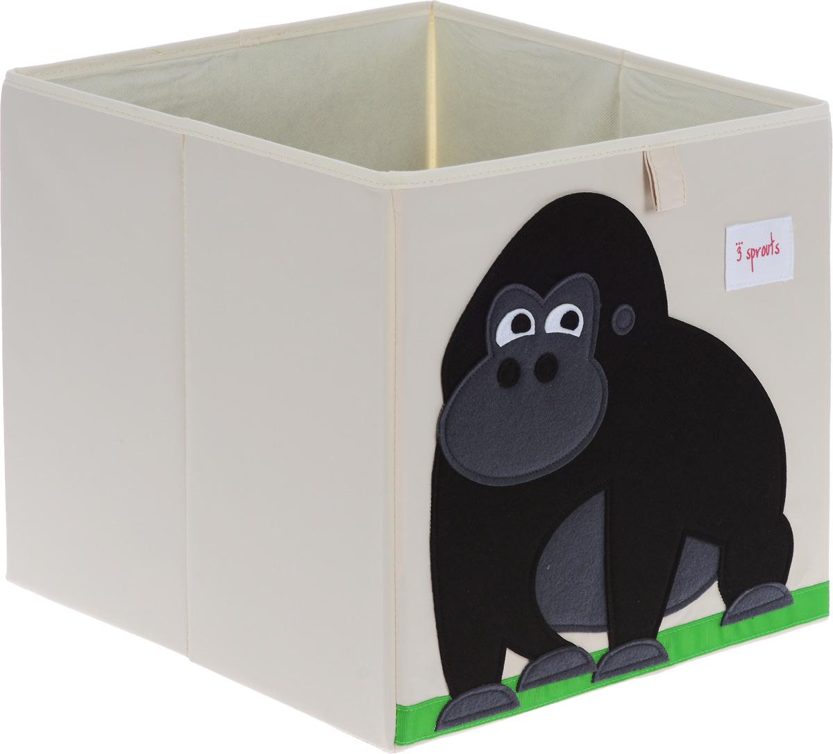 3 Sprouts Коробка для хранения Горилла
