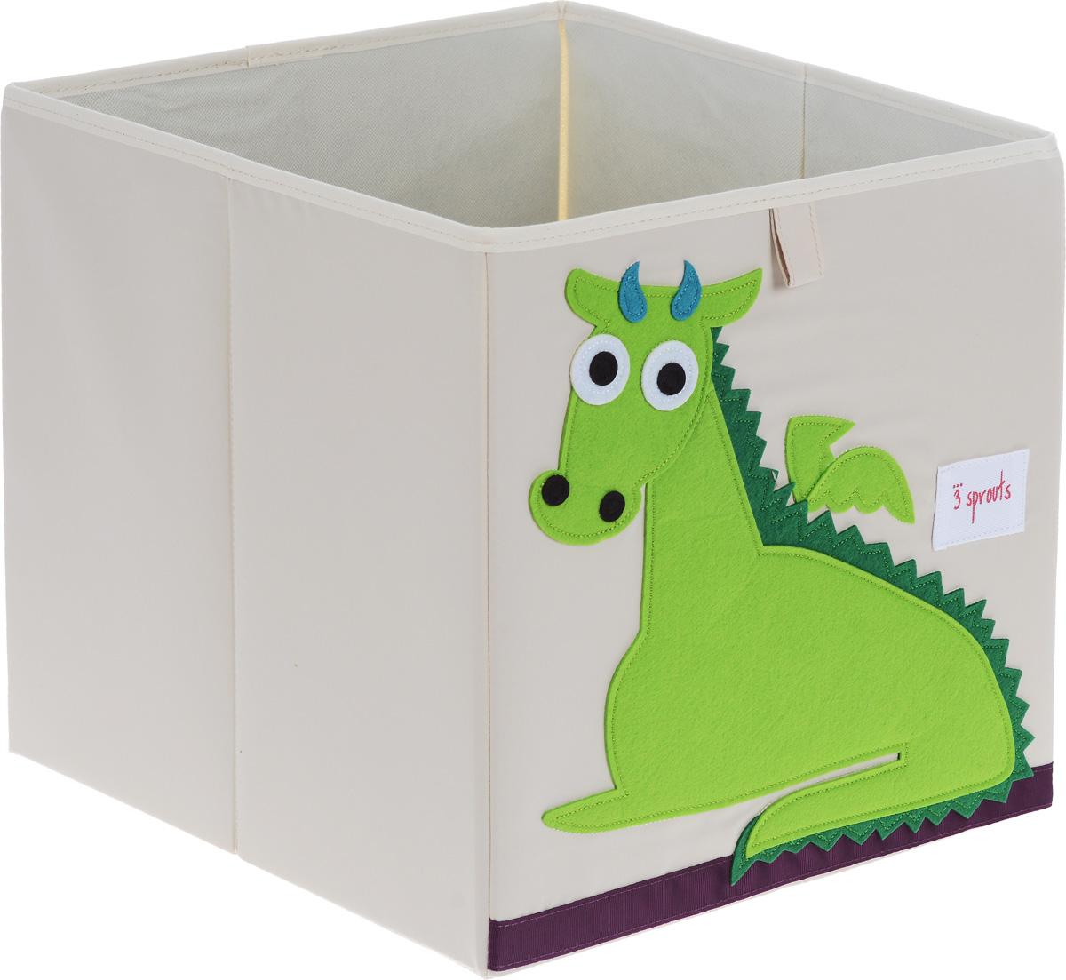 3 Sprouts Коробка для хранения Дракон -  Товары для хранения