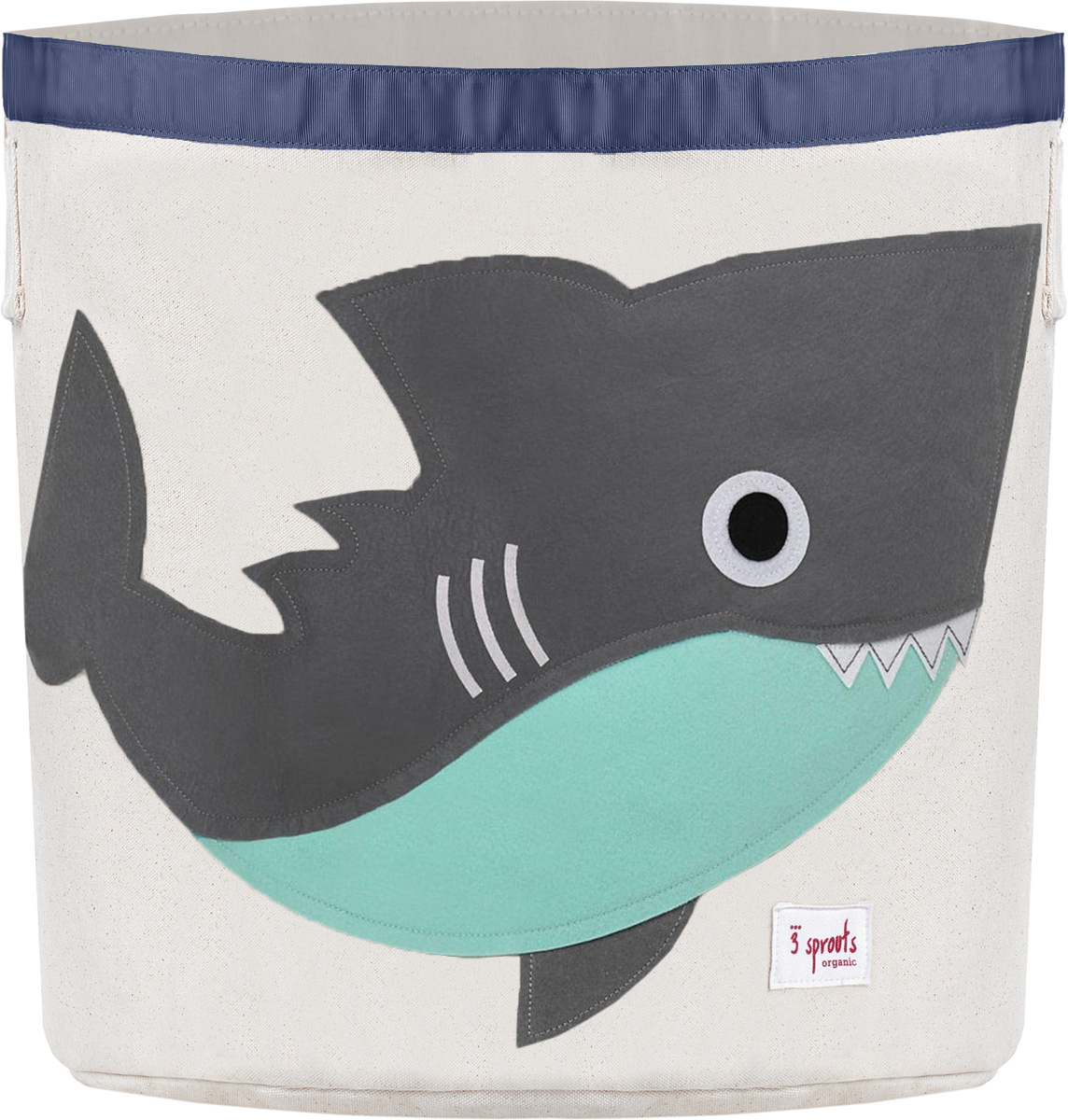 3 Sprouts Корзина для хранения Серая акула1004900000360Универсальная корзина для хранения 3 Sprouts Серая акула поможет вам навести порядок в детской.Размер корзины позволяет хранить в ней игрушки, книжки или белье. Корзина легко складывается, когда в ее использовании нет необходимости, тем самым сохраняя простор вашего дома. Корзина для хранения вещей - идеальный подарок для новорожденных, младенцев и детей.