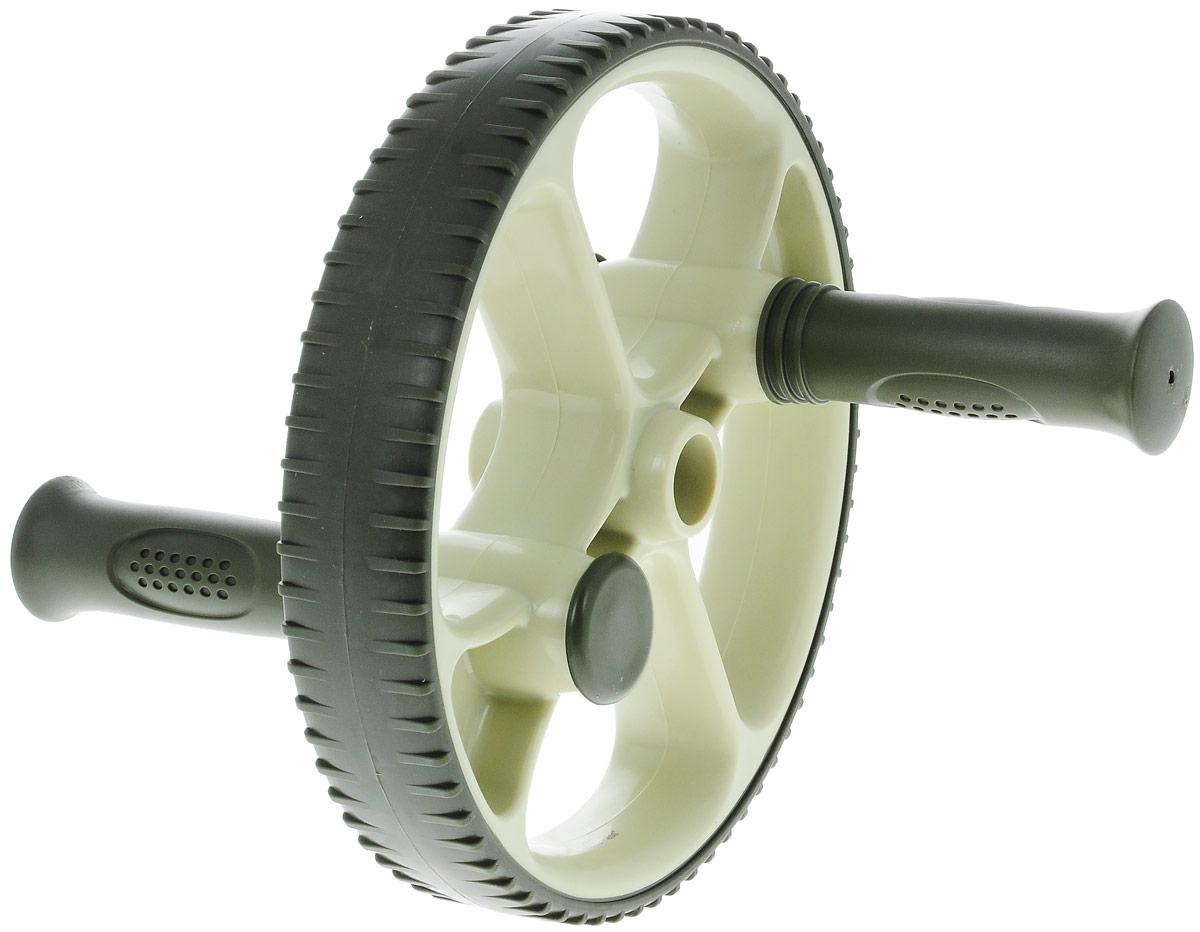Ролик для пресса Ecowellness, со сменными ручками, цвет: зеленый, диаметр 22,5 см. QB-704G3-BFABLSEH10002Этот прочный ролик для пресса изготовлен из термопластичной резины и идеально подходит для тренировки мышц нижней части живота, при этом так же тренируются мышцы пресса, спины, рук и плеч.Сменные рукоятки позволяют делать как простые, так и более сложные упражнения.Ролик имеет увеличенный диаметр - 22,5 см.