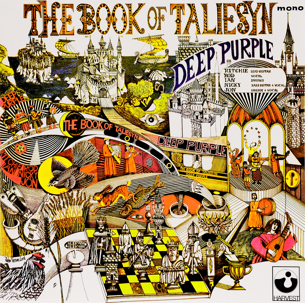 Deep Purple Deep Purple. The Book Of Taliesyn (LP) purple rain lp cd