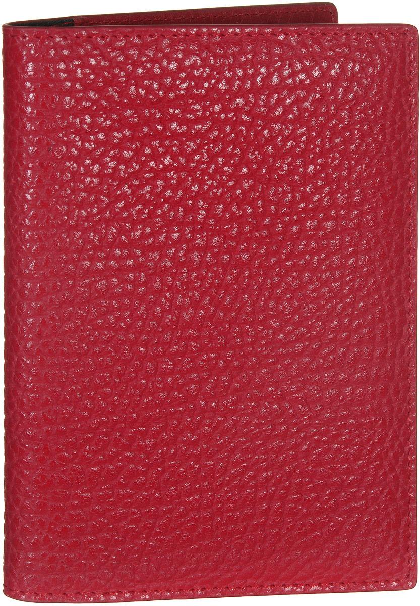 Обложка для документов женская Vitacci, цвет: красный. HS091A52_108Стильная обложка для документов от Vitacci выполнена из натуральной кожи зернистой текстуры. Внутри расположено два боковых кармана, один из которых прозрачный и пять карманов для визиток. Также внутри находится съемный блок из шести прозрачных файлов из мягкого пластика, один из которых формата А5, а также четыре накладных кармана для визиток или кредитных карт.Изделие упаковано вфирменную коробку. Такая обложка для документов идеально подойдет для любого образа и сохранит ваши документы.