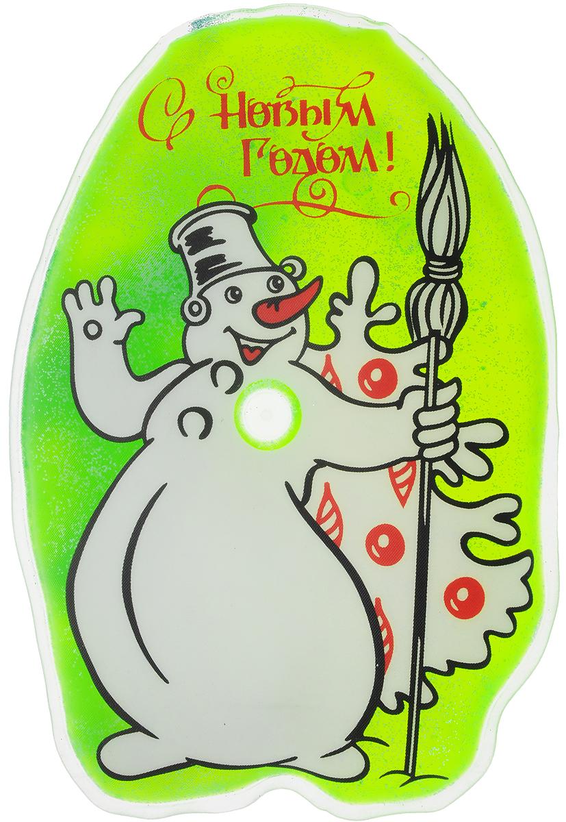 Грелка солевая Дельтатерм  Снеговик , цвет: белый, зеленый - Лечение и профилактика