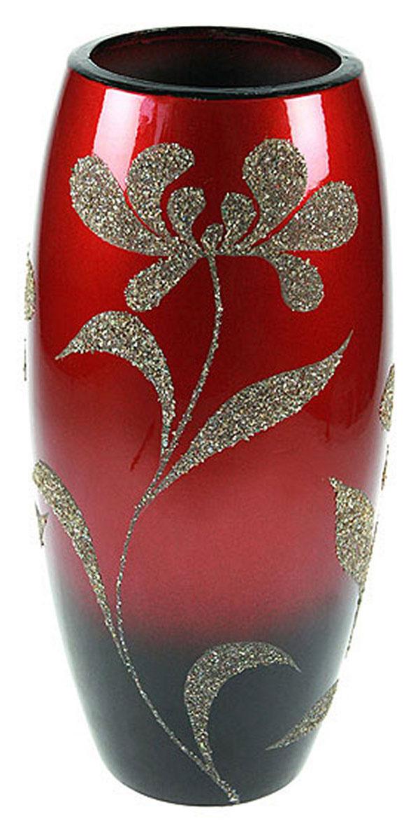 Ваза Русские Подарки, высота 31 см. 14901FS-80423Ваза Русские Подарки, выполненная из керамики, украсит интерьер вашего дома или офиса. Оригинальный дизайн и красочное исполнениесоздадут праздничное настроение.Такая ваза подойдет и для цветов, и для декора интерьера. Кроме того - это отличный вариант подарка для ваших близких и друзей.Правила ухода: регулярно вытирать пыль сухой, мягкой тканью.Размер вазы: 16 х 16 х 31 см.