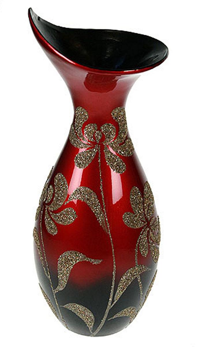 Ваза Русские Подарки, высота 41 см. 14903FS-91909Ваза Русские Подарки, выполненная из керамики, украсит интерьер вашего дома или офиса. Оригинальный дизайн и красочное исполнение создадут праздничное настроение.Такая ваза подойдет и для цветов, и для декора интерьера. Кроме того - это отличный вариант подарка для ваших близких и друзей.Правила ухода: регулярно вытирать пыль сухой, мягкой тканью.Размер вазы: 15 х 15 х 41 см.