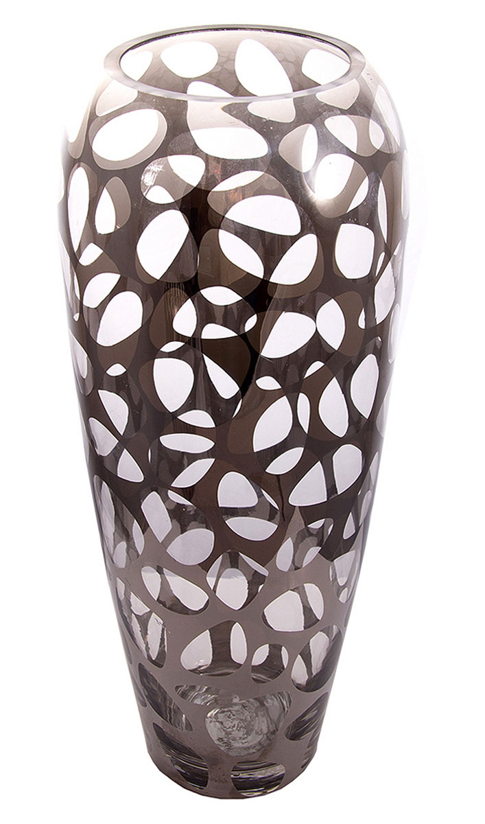 Ваза Русские Подарки, высота 35 см. 51410HS.040037Ваза Русские Подарки, выполненная из стекла, украсит интерьер вашего дома или офиса. Оригинальный дизайн и красочное исполнение создадут праздничное настроение.Такая ваза подойдет и для цветов, и для декора интерьера. Кроме того - это отличный вариант подарка для ваших близких и друзей.Правила ухода: мыть теплой водой с применением нейтральных моющих средств.Высота вазы: 35 см.Диаметр вазы: 14 см.