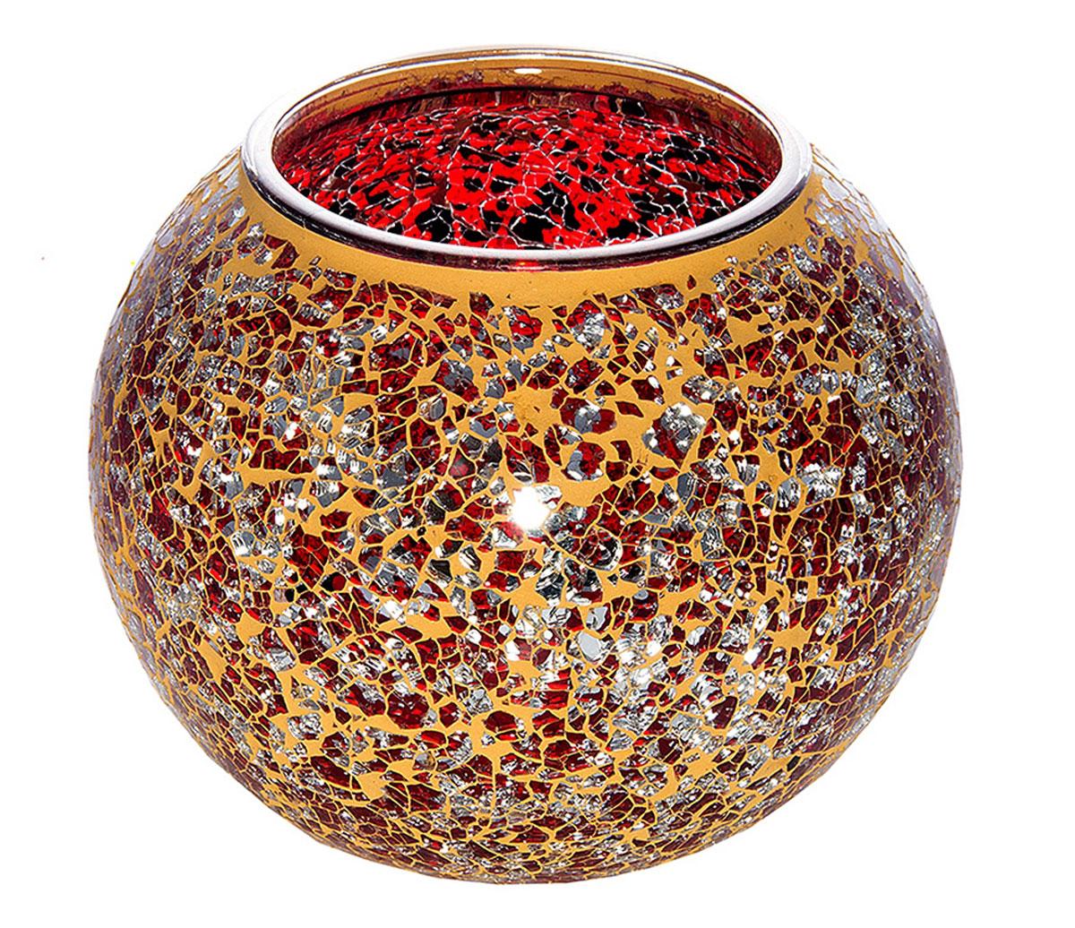 Ваза Русские Подарки Мозаика, 21 х 21 х 16 см. 8670654 009312Ваза Русские Подарки, выполненная из стекла, украсит интерьер вашего дома или офиса. Оригинальный дизайн и красочное исполнение создадут праздничное настроение.Такая ваза подойдет и для цветов, и для декора интерьера. Кроме того - это отличный вариант подарка для ваших близких и друзей.Правила ухода: мыть теплой водой с применением нейтральных моющих средств.Размер вазы: 21 х 21 х 16 см.