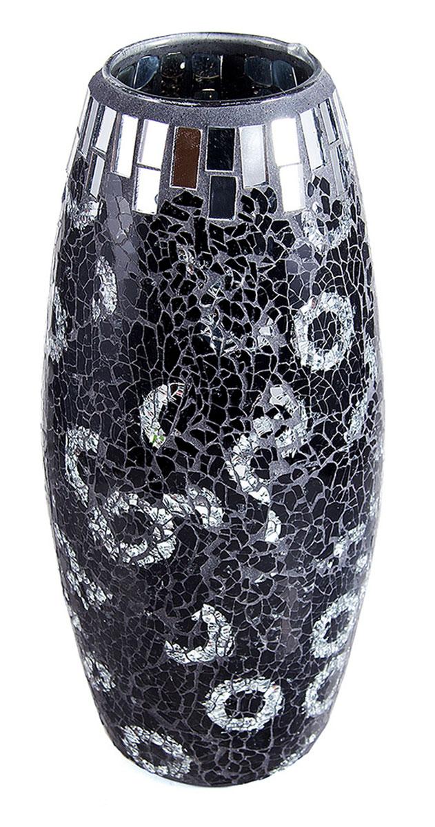 Ваза Русские Подарки Мозаика, высота 30 см. 86732FS-80423Ваза Русские Подарки, выполненная из стекла, украсит интерьер вашего дома или офиса. Оригинальный дизайн и красочное исполнение создадут праздничное настроение.Такая ваза подойдет и для цветов, и для декора интерьера. Кроме того - это отличный вариант подарка для ваших близких и друзей.Правила ухода: мыть теплой водой с применением нейтральных моющих средств.