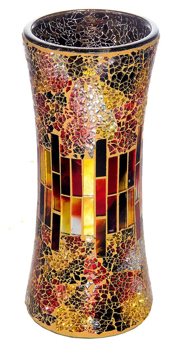 Ваза Русские Подарки Мозаика, высота 30 см. 8673551414Ваза Русские Подарки, выполненная из стекла, украсит интерьер вашего дома или офиса. Оригинальный дизайн и красочное исполнение создадут праздничное настроение.Такая ваза подойдет и для цветов, и для декора интерьера. Кроме того - это отличный вариант подарка для ваших близких и друзей.Правила ухода: мыть теплой водой с применением нейтральных моющих средств.
