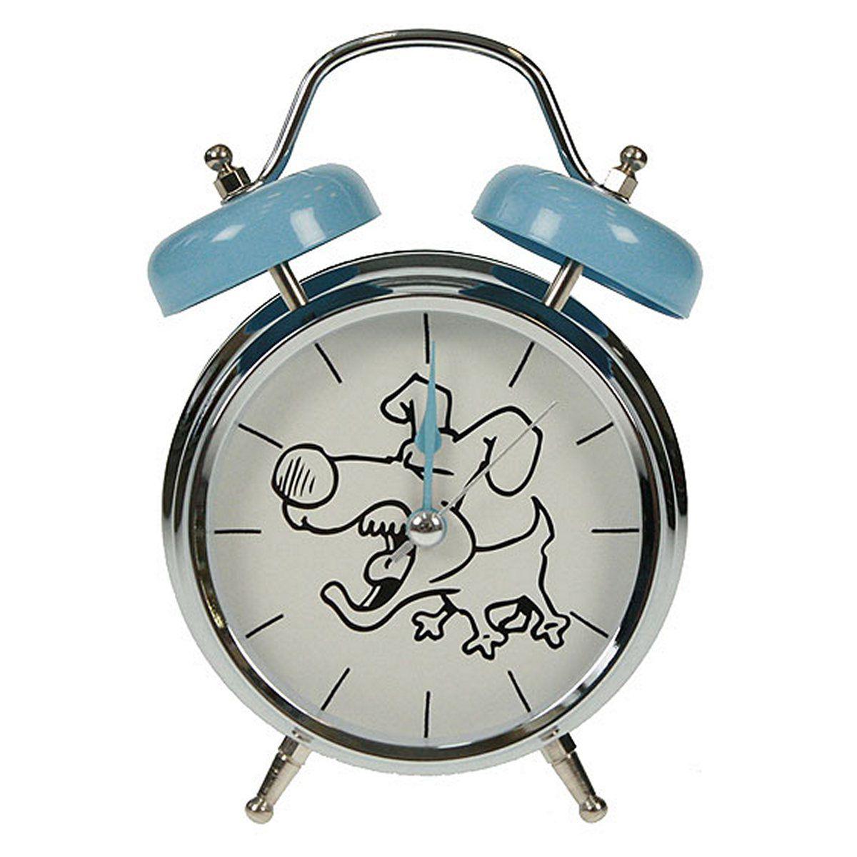 Часы настольные Русские Подарки Собака, с функцией будильника, 12 х 6 х 17 см. 2324112706 (ПО)Настольные кварцевые часы Русские Подарки Собака изготовлены из металла, циферблат защищен стеклом. Оригинальное оформление в виде смешной собаки поднимет настроение, а благодаря функции будильника вы проснетесь вовремя. Часы имеют три стрелки - часовую, минутную и секундную.Такие часы украсят интерьер дома или рабочий стол в офисе. Также часы могут стать уникальным, полезным подарком для родственников, коллег, знакомых и близких.Часы работают от батареек типа АА (в комплект не входят).