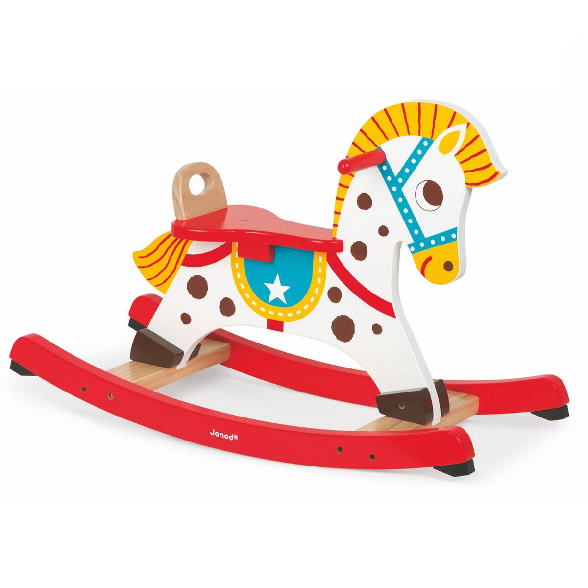 Janod Качалка Озорная лошадка - Ходунки, прыгунки, качалки