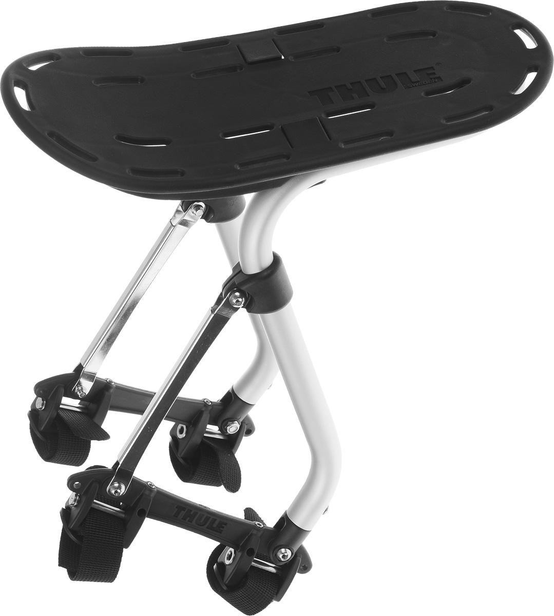Багажник велосипедный Thule Pack n Pedal Sport RackMHDR2G/AБагажник велосипедный Thule Pack n Pedal Sport Rack для активных занятий спортом предназначен, главным образом, для размещения грузов и сумок сверху. Многочисленные отверстия позволяют надежно закрепить груз на багажнике при помощи ремней. Запатентованная система установки для велосипедов любого типа - от простого до двухподвесного с диаметром колеса 29. Багажник устанавливается как над задними, так и над передними колесами. Подходит для любого материала рамы велосипеда. Изделие имеет бесшумную конструкцию и не создает вибрации. Багажник поставляется в разобранном виде. Инструкция по сборке прилагается. Грузоподъемность: до 25 кг. Размер доски для размещения грузов: 32 х 15 см.