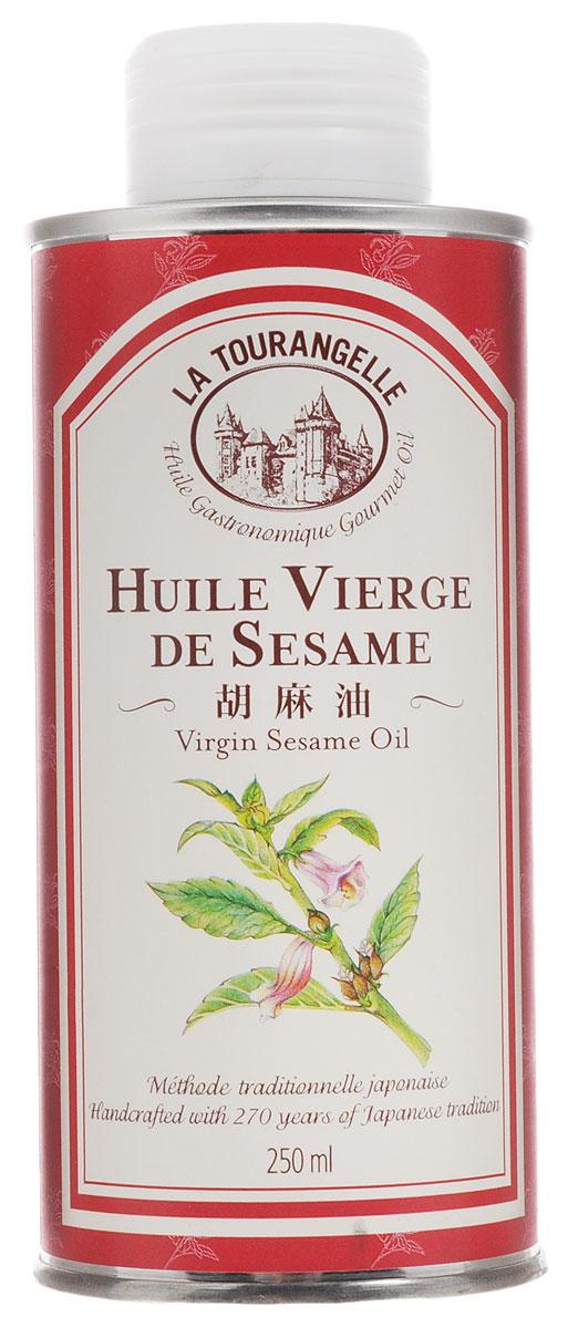 La Tourangelle Sesame Virgin Oil масло кунжутное нерафинированное, 250 мл0120710Масло La Tourangelle Sesame Virgin Oil изготовлено из высококачественных обжаренных семян кунжута в сотрудничестве с одним из старейших маслозаводов Японии. Кунжутное масло используют при приготовлении маринадов для мяса и рыбы. Это масло также идеально подходит к китайскому салату с курицей, а его смесь с рисовым уксусом, свежим тертым имбирем и горчицей станет прекрасной заправкой для самых разнообразных салатов из свежей зелени и овощей. Масло можно подогревать до средних температур. Входящий в состав кунжутного масла комплекс Омега-6 и Омега-9 жирных кислот способствует улучшению работы сердечно-сосудистой, половой, эндокринной и нервной систем, нормализации жирового обмена и уровня сахара в крови, укреплению иммунитета, снижению риска развития онкологических заболеваний, а также нейтрализует негативное влияние на организм человека разного рода вредных веществ (шлаки, токсины, канцерогены, радионуклиды, соли тяжелых металлов).