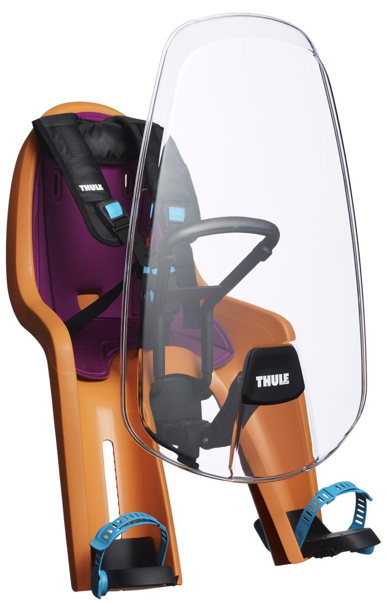 Защитный козырек Thule Ride Along Mini WindsceenMW-1462-01-SR серебристыйЗащитный экран от ветра Thule RideAlong Mini защищает вашего ребенка от ветра и насекомых с помощью полностью прозрачного и прочного материала.