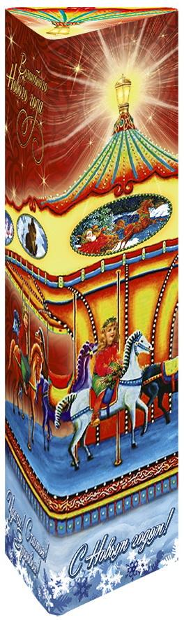 Дольче Вита Новогодняя Карусель черный ароматизированный листовой чай, 75 г0120710Дольче Вита Новогодняя Карусель - цейлонский чёрный крупнолистовой чай с добавлением лепестков розы, ароматизированный натуральными маслами клубники и лесных ягод.