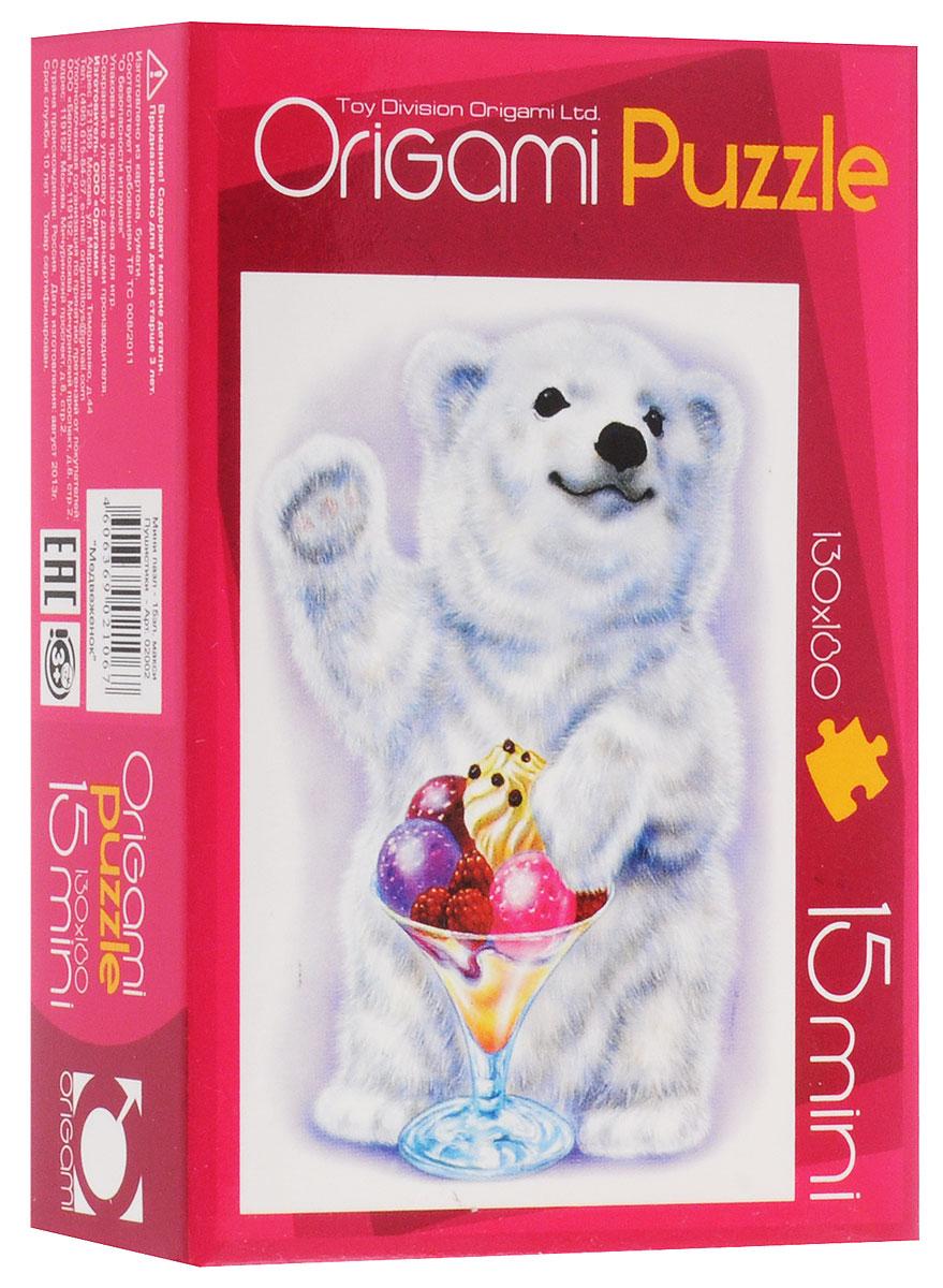 Оригами Пазл для малышей Медвежонок