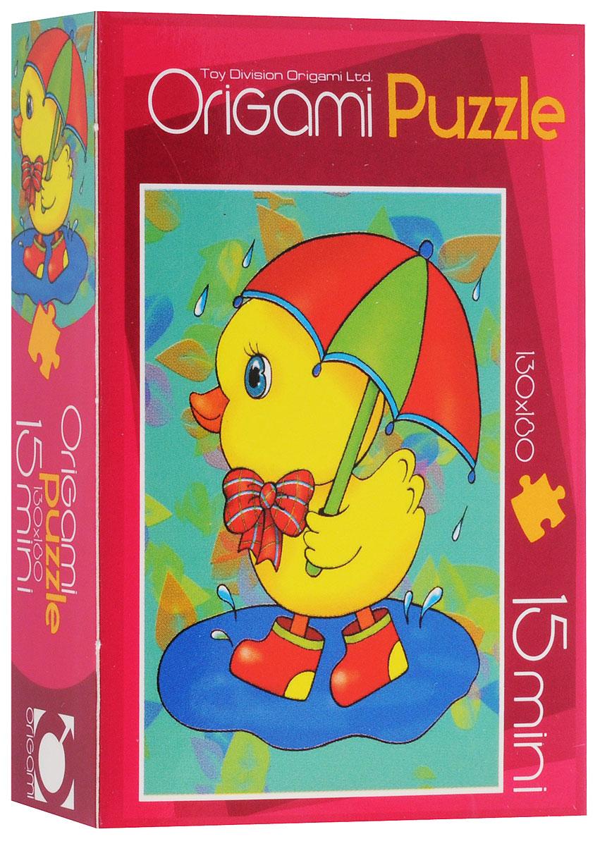 Оригами Пазл для малышей Цыпленок