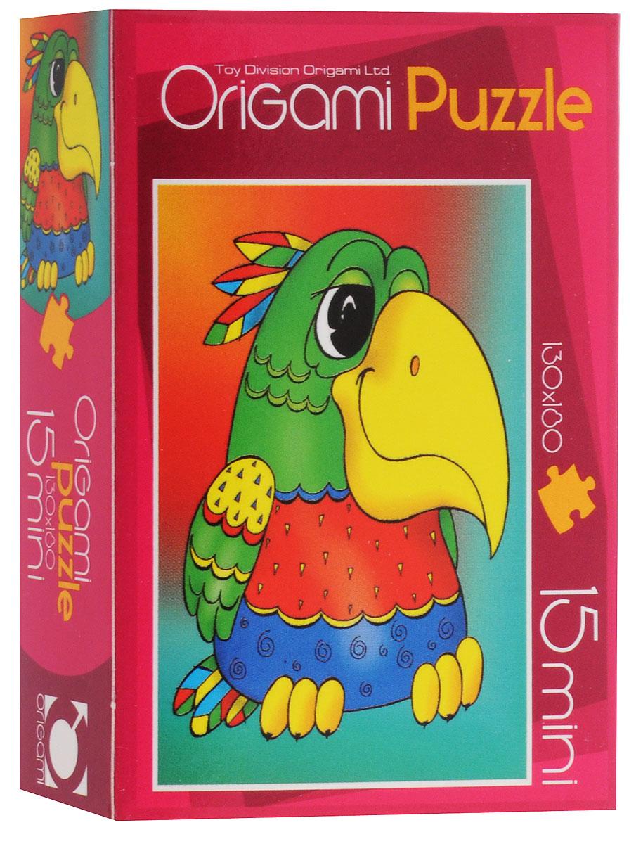 Оригами Пазл для малышей Попугай