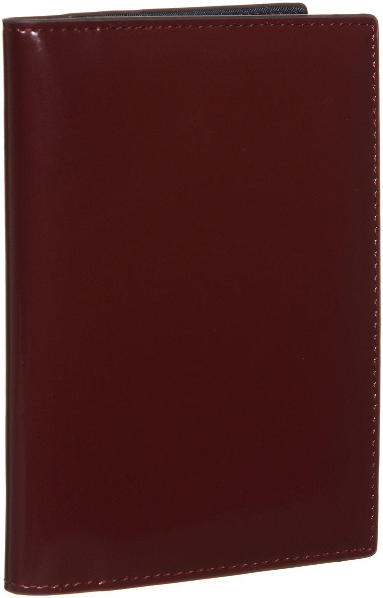 Обложка для документов женская Vitacci, цвет: бордовый. HS082BM8434-58AEСтильная обложка для документов от Vitacci выполнена из натуральной гладкой кожи. Внутри расположено два боковых кармана, один из которых прозрачный и пять карманов для визиток. Также внутри находится съемный блок из шести прозрачных файлов из мягкого пластика, один из которых формата А5, а также четыре накладных кармана для визиток или кредитных карт.Изделие упаковано вфирменную коробку. Такая обложка для документов идеально подойдет для любого образа и сохранит ваши документы.