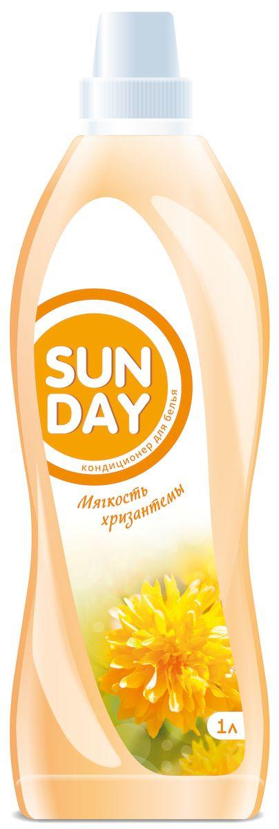 Кондиционер для белья Sunday Мягкость хризантемы, 1000 мл4814628005271