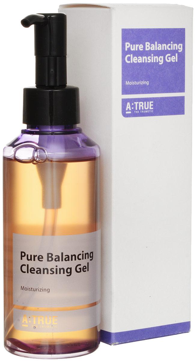 A-True Гель для умывания очищающий, 150 млFS-00897Нежный балансирующий гель для лица эффективно и деликатно удаляет остатки макияжа и загрязнения, не нарушая водный баланс кожи. Создает комфорт и обновление кожи, препятствует сухости и обезвоживанию. Гипоаллергенная формула средства поддерживает естественный липидный барьер кожи, выравнивает ее рельеф.Гель содержит гиалуроновую кислоту, экстракт огуречника, масло апельсина, трегалозу, экстракт фасоли, бета-глюкан. Гиалуроновая кислота избавляет от шелушения, стянутости, усиливает метаболизм, поддерживает водный баланс. Активизирует выработку коллагена. Экстракт огуречника осветляет кожу, поддерживает ее эластичность.Масло апельсина убирает мышечное напряжение, выводит токсины, нормализует жирность. Трегалоза защищает клеточные мембраны, подавляя связанные со старением образования летучих альдегидов. Экстракт фасоли активизирует микроциркуляцию крови, улучшает тонус кожи. Бета-глюкан активирует макрофаги кожи, что ведет к ускорению обновления клеток.Всесезонное средство. При производстве средства использованы только безопасные и натуральные ингредиенты.
