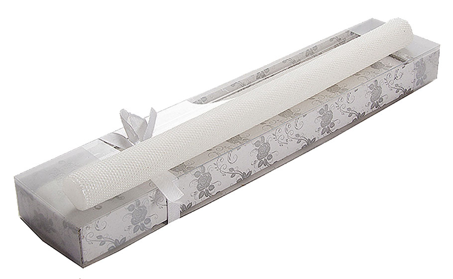 Набор свечей Win Max Жемчуг, 32 х 2 см, 2 шт. 9471016050Набор декоративных свечей Win Max Жемчуг представляет собой набор из двух свечей, украшенных красивой резьбой в виде маленьких жемчужин. Набор упакован в красивую коробку и перевязан лентой. Свечи создают атмосферу уюта и романтики. Яркая свеча будет прекрасным дополнением к вашему празднику. Симпатичный сувенир послужит отличным подарком.Длина свечи: 32 см.Диаметр дна: 2 см.