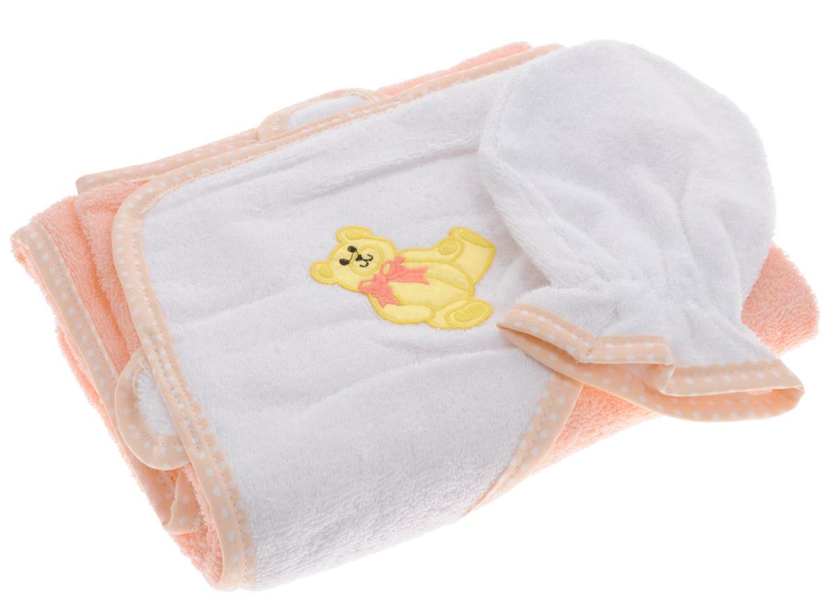 Фея Комплект для купания Мишка 2 предмета -  Полотенца
