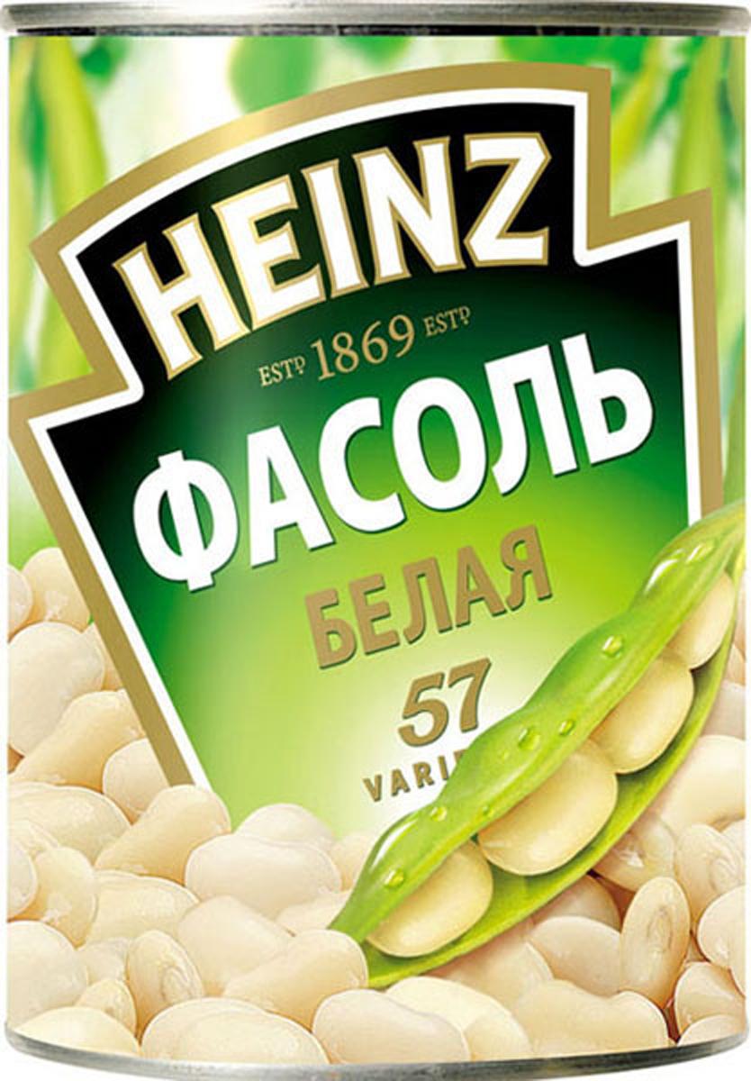 Heinz фасоль белая, 400 г0120710Нежнейшая белая фасоль Хайнц богата витаминами и минералами. Полностью готова к употреблению в качестве гарнира или ингредиента к супу и салату. Не содержит искусственных добавок и отвечает высочайшим стандартам качества.